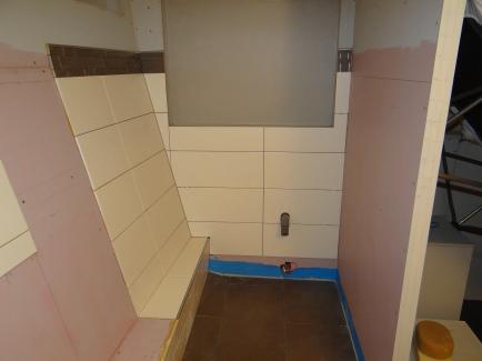 Tegels in het toiletgedeelte