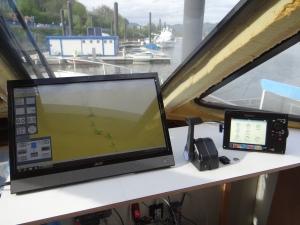 Monitor en SImrad NSS7